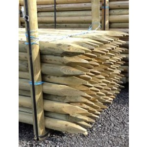 Tree Stake, Round : 1.5m x 50mm dia