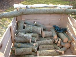 Timber shown in a box